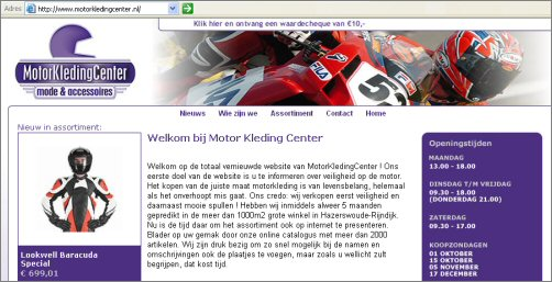 Grootste online aanbod van Motorkleding