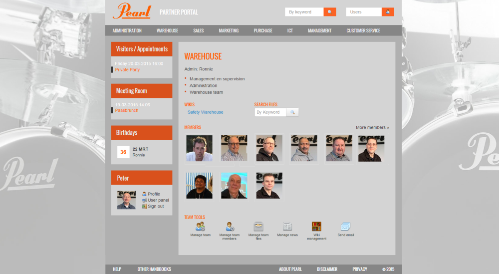 Pearl Partner Portal