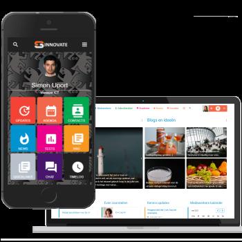 Sociaal intranet met app binnen een week online?