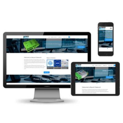 Bausch Datacom dynamische RWD website
