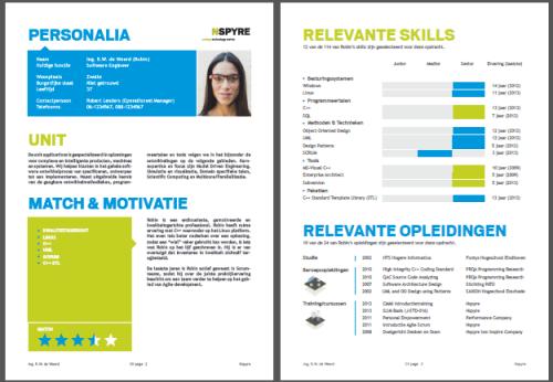 Nspyre CV tool pdf preview