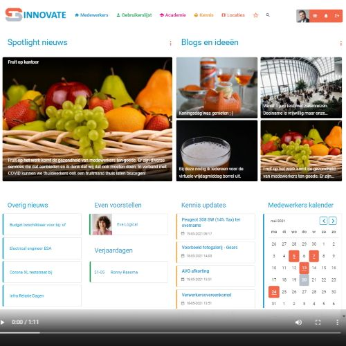 Video-impressie: Sociaal intranet van simulatiebedrijf Sinnovate