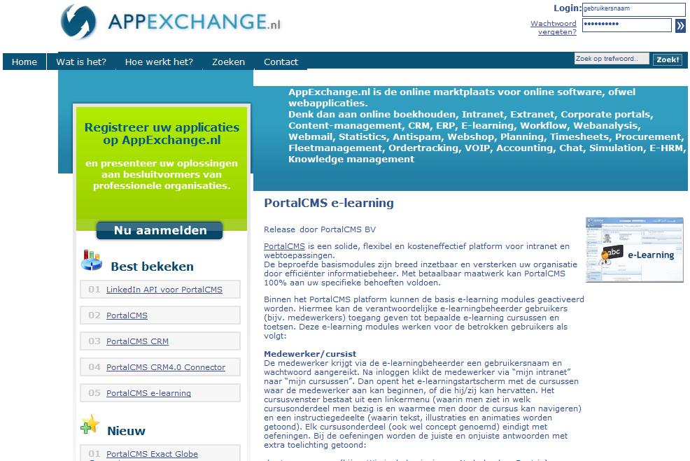 i-Concept verkoopt Appexchange.nl aan Amerikaanse marktleider van online CRM