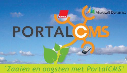 Zaaien en Oogsten met PortalCMS
