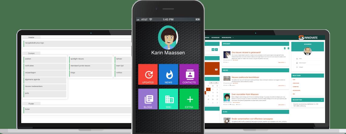 Sociaal Intranet met Mobile App binnen een week startklaar