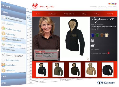 Kledingmerk Van Ranzow open webshop